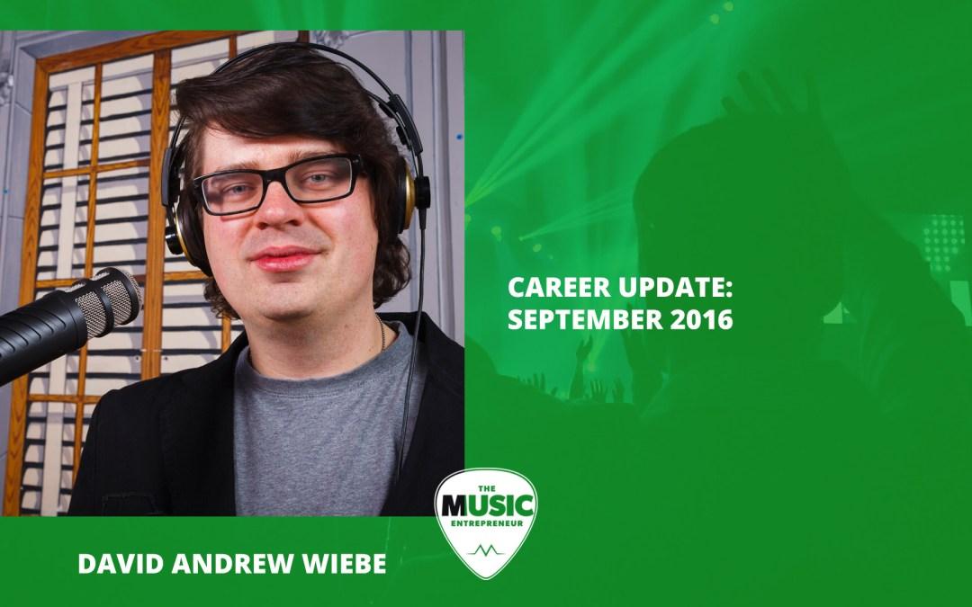 013 – Career Update: September 2016