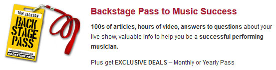 Backstage Pass to Music Success