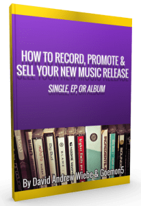 How to Record, Promote & Sell Your New Music Release – Single, EP, or Album