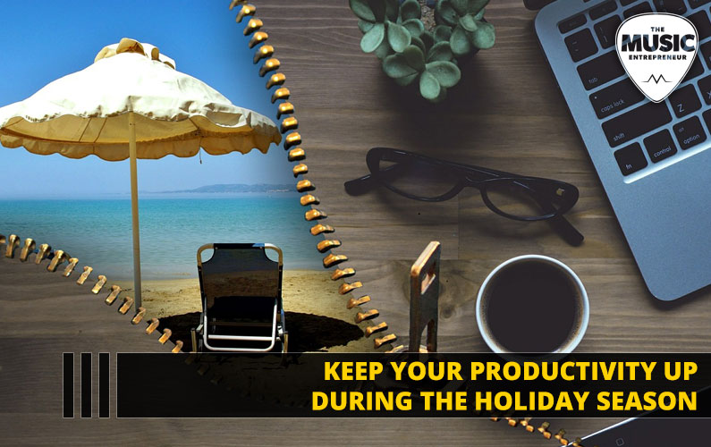 Keep Your Productivity Up During the Holiday Season [INFOGRAPHIC]