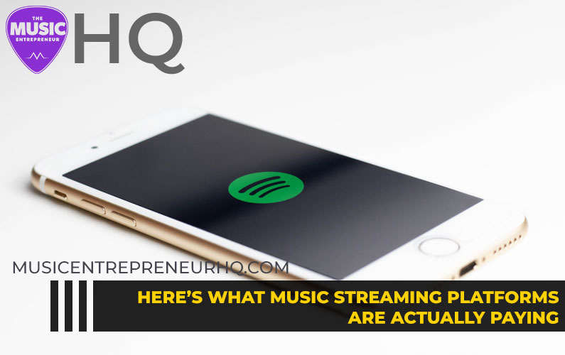Here's What Music Streaming Platforms Are Actually Paying [INFOGRAPHIC]