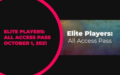 Elite Players: All Access Pass Update – October 1, 2021