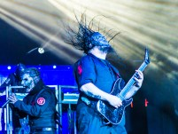 Corey Taylor and Mick Thomson (SEVEN) of Slipknot