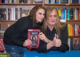 Sebastian Bach Book Signing - 12/9/16 Anderson's Bookshop - LaGr