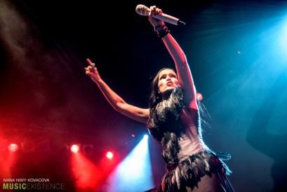 Tarja Turunen at Majestic Music Club in Bratislava