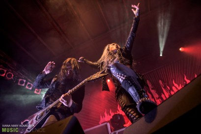 Arch Enemy at Majestic Music Club in Bratislava