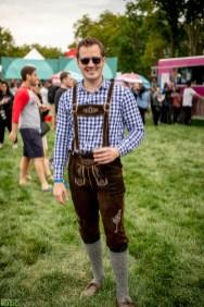 Beer fan at OctFest