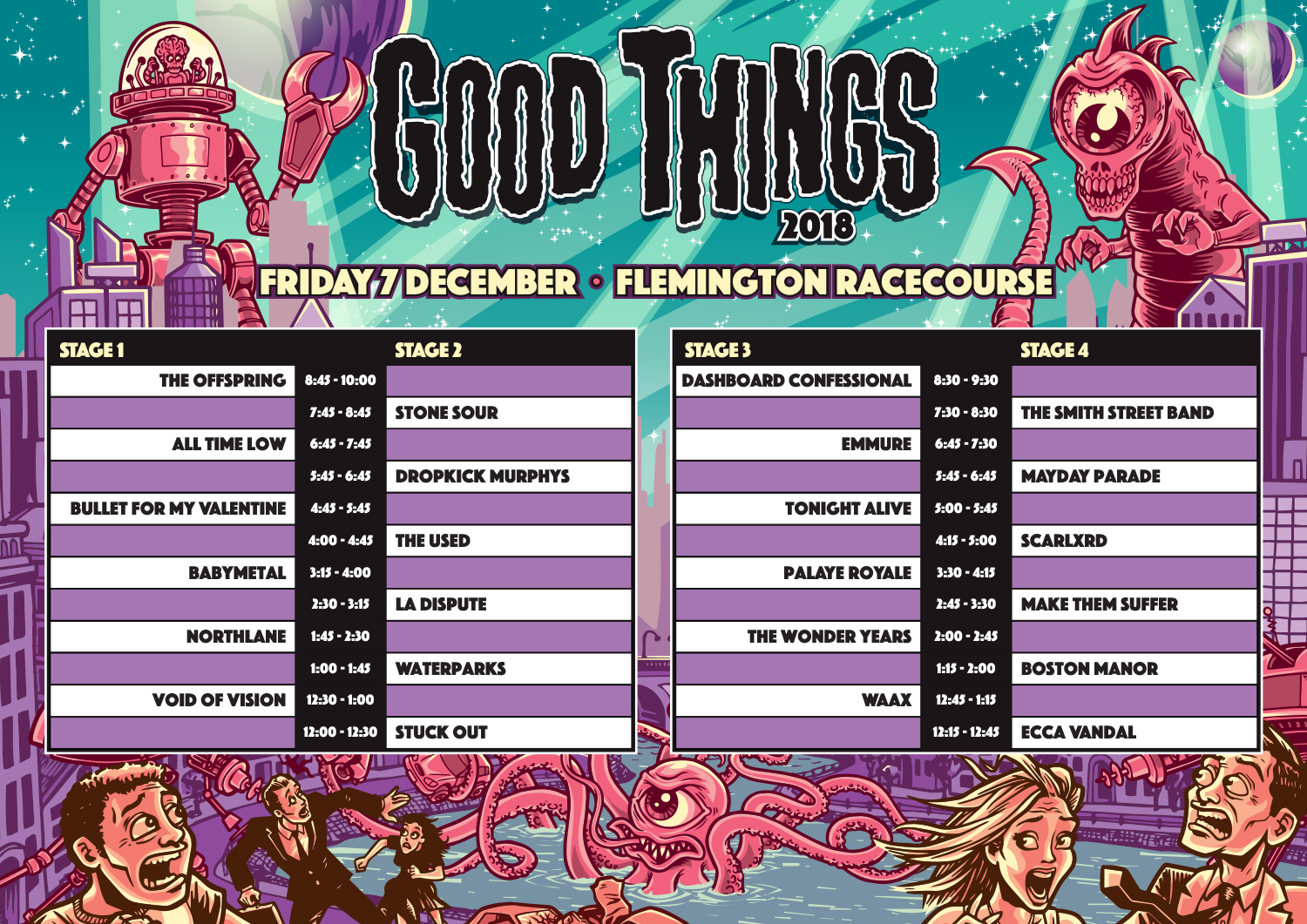 Good Things Festival Reveals New Acts Amp Set Times For 2018