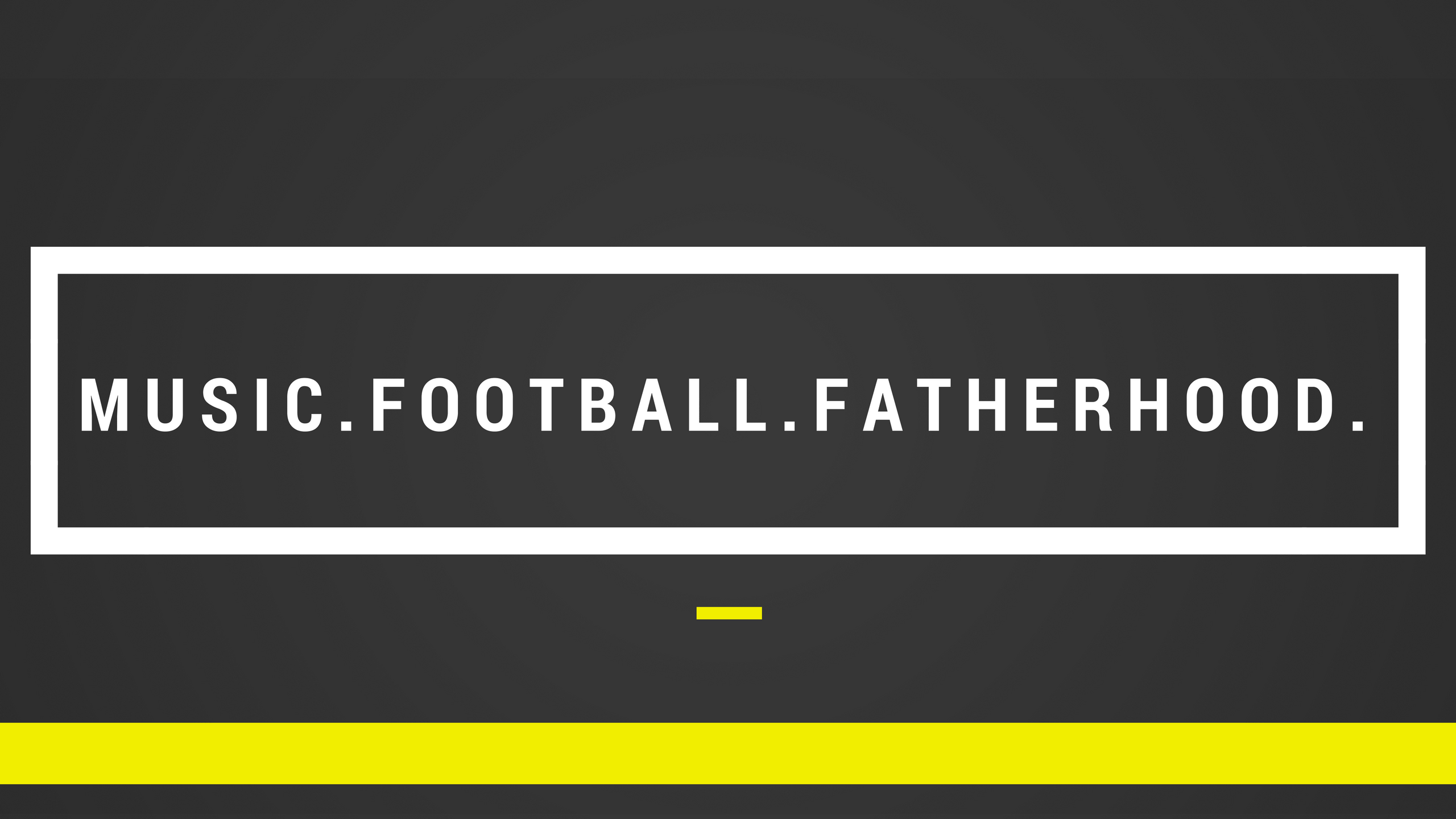 Cropped Youtube Banner 1 Png Music Football Fatherhood