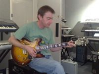 Mike with Vox Razorlight Guitar