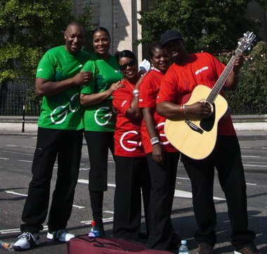 Gospel Choir Buskers London