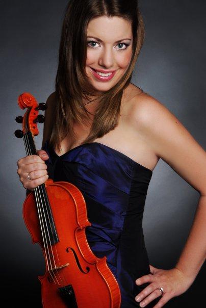 Beautiful London Violinist