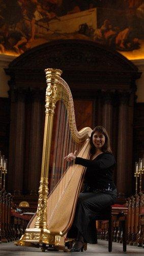 Concert Harpist and Wedding Harpist