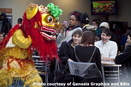 Guan Yin Chinese Lion Dancers & Acrobats