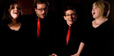 The Trinity Carol Singers in London  - Christmas Carolers
