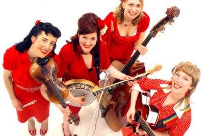 Blue Grass Girls - Bluegrass Band