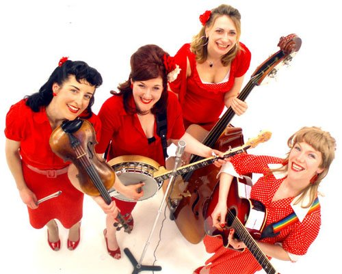 Blue Grass Girls - Bluegrass Band