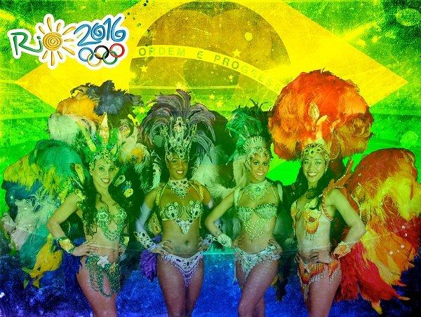 Brazilian Carnival Dancers - Rio 2016