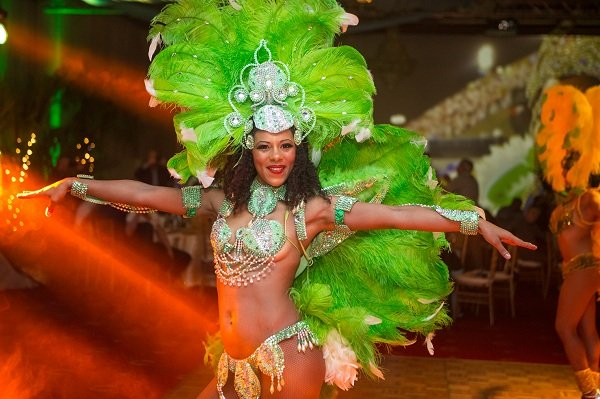 Female Brazilian Dancer