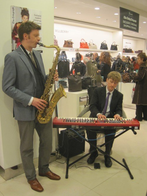 Jazz Saxophone Duo