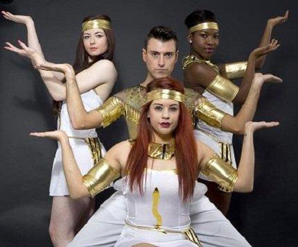 Egyptian Themed Dancers