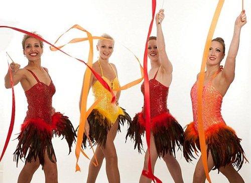 Gymnastics Themed Dancers
