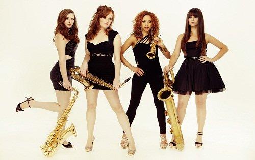 All Girl Saxaphone Quartet