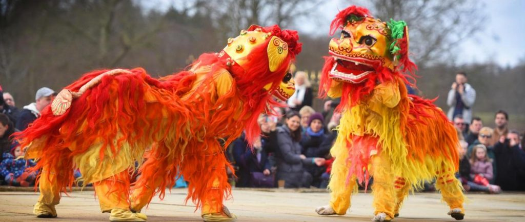 Hire Chinese Lions Dragons Entertainment London