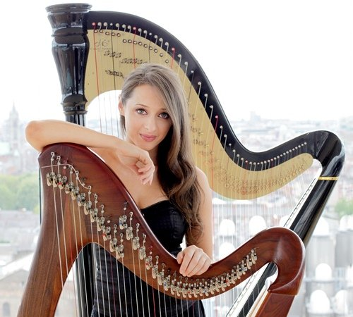Irish Harpist London