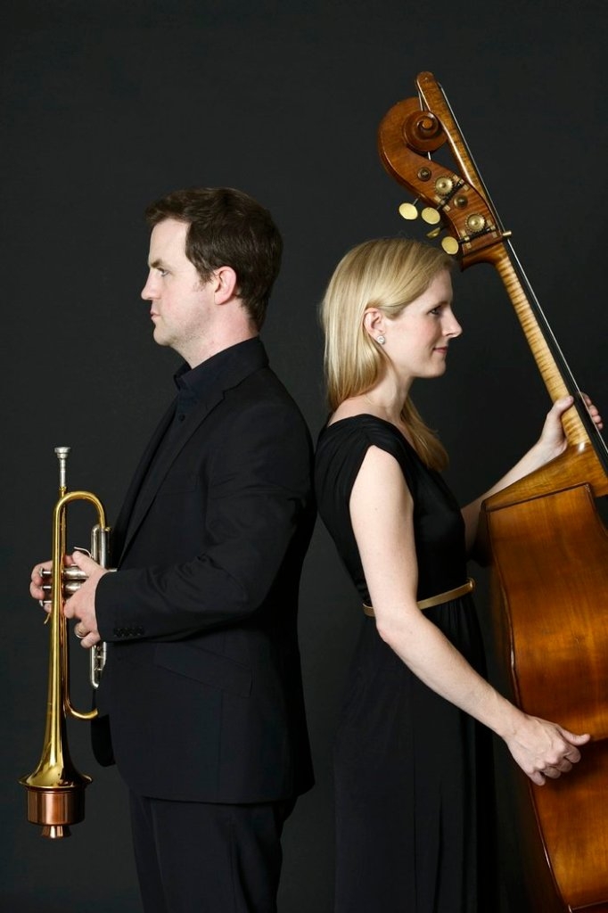 Trumpet and Bass Wedding Musicians