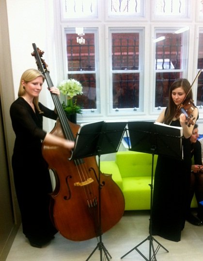 String Duo for hire In London
