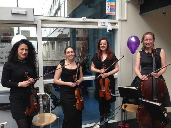 String Quartet - Entertainment for International Women's Day