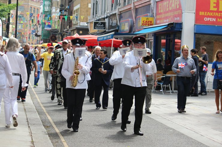 Military Band - Whitecross Street Party Veteran's Parade