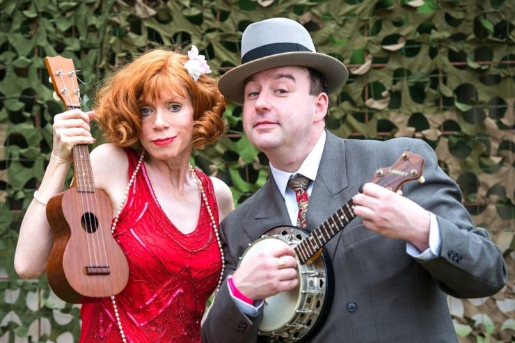 Book A Vintage Themed Ukulele Ensemble - Music for London