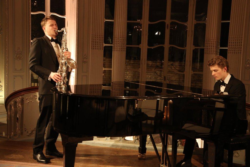 Saxophone and Jazz Piano Duo London