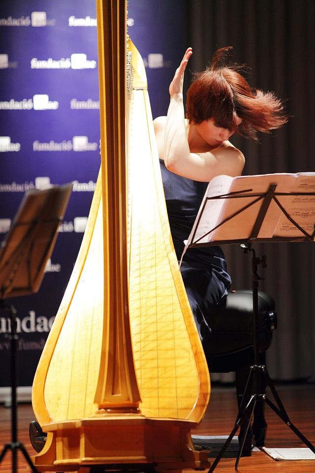 Harpist in Concert