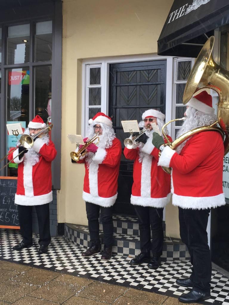 Christmas Carols London Brass band
