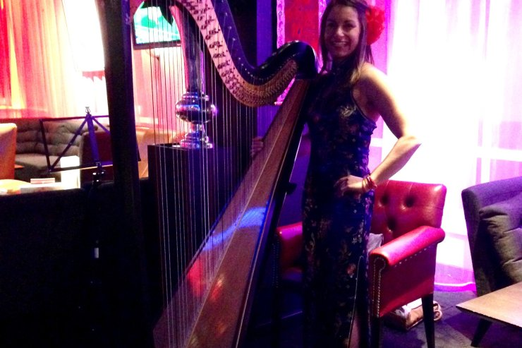 Harpist-London