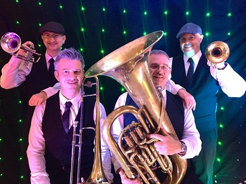 Hire A Pop Brass Quartet In London
