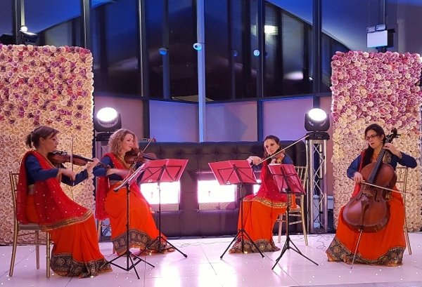 Bombay Girls Quartet In London