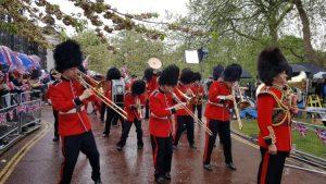 Dancing Military Band