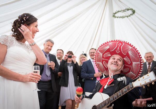 Mariachi Band to Serenade a Couple