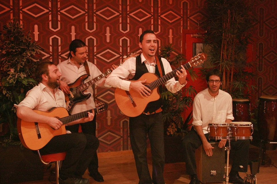 Hire Four Piece Spanish Flamenco Rhumba Mambo Band