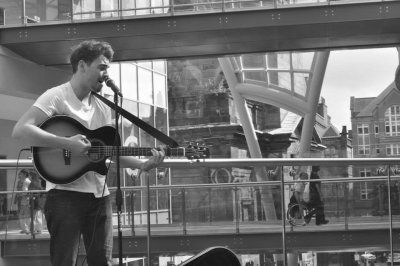 Book A Solo Acoustic Cover Artist - Busker in London - Music for London