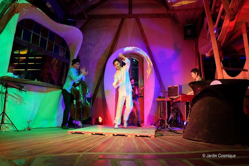 Jazz Improv Trio - Tap Dancers in London - Music for London - Photo: Jardin Cosmique