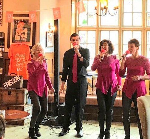 Frisson A Cappella Quartet