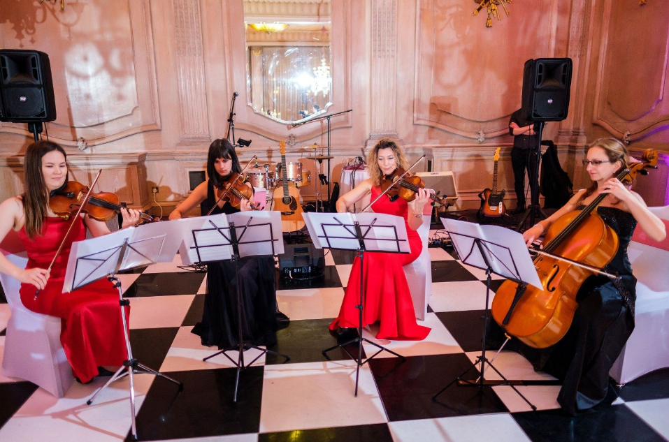 All Ladies Concert String Quartet Based in Southampton United King