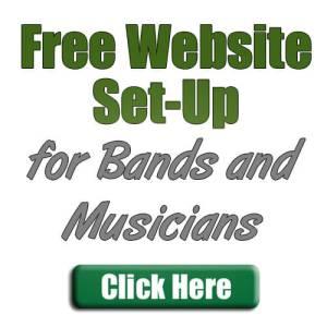 free-band-website-set-up