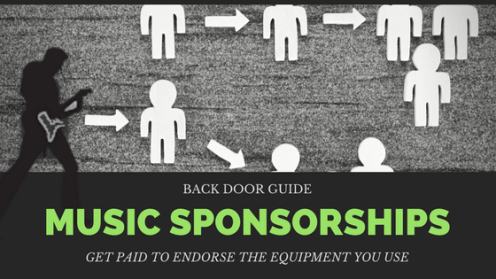 Music Sponsorships & Endorsements Hack: How To Get Paid To Endorse The Equipment You Use