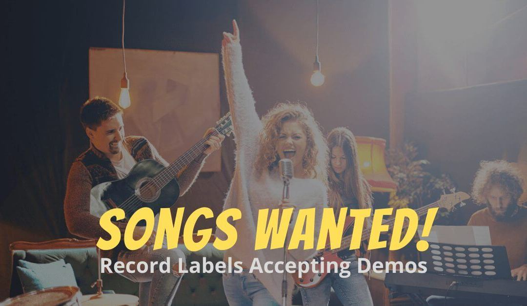 How To Contact Record Labels Looking For Artists To Sign In 2020